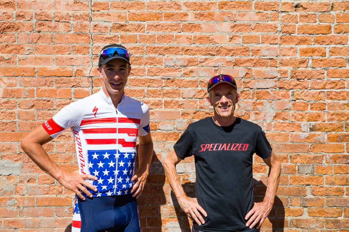 Todd Wells and Ned Overend.