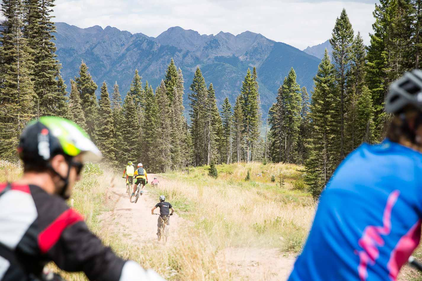 A huge turnout and a long train in support of more lift-accessed, gravity fed trail in Durango.