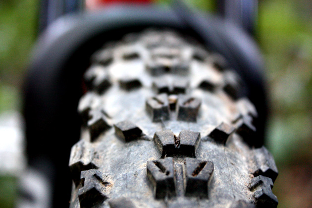 In addition to making your bike look just a bit more like a monster truck, wider rims also boost traction and add some much needed stability and support to tire casings. Geek-speak aside, wide rims can make some fairly average tires feel absolutely invincible while cornering.