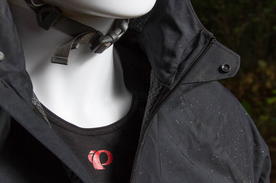 It's little details like a button closure and full-length internal draft flap behind the zipper that make the WRX feel more like a well designed, comfortable soft shell than an emergency rain jacket. The 2.5 layer material is soft and stretchable for added comfort and mobility.