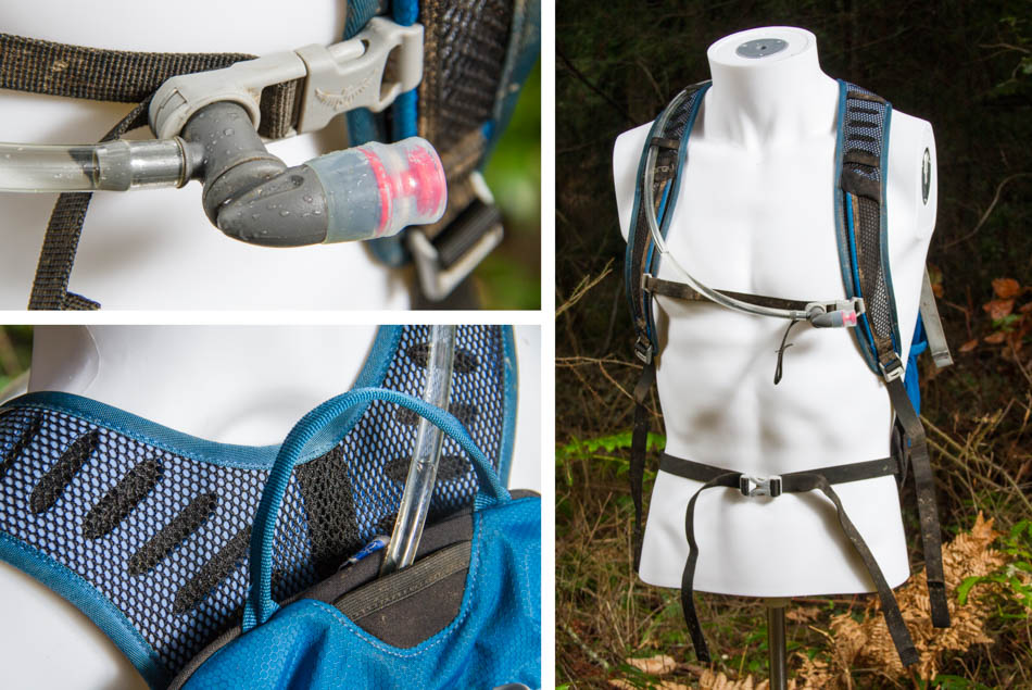 Smart features like a magnetic hose clip and vented foam straps make the Syncro 15 light and easy to manage. However, it would be nice to have a thicker, more comfortable waist strap.