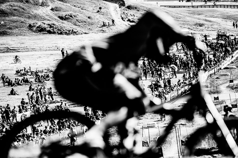 The Sea Otter Classic's annual dual-slalom races attract the biggest, most exuberant crowds of the festival—and this year was certainly no exception.
