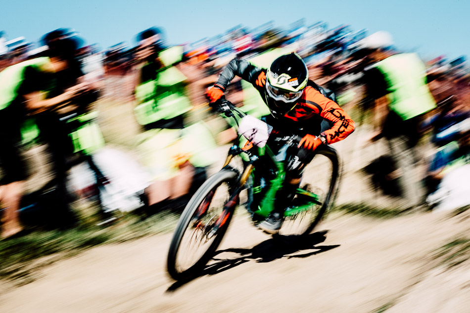 For many of today's racers, it was their first time to compete in the Sea Otter Classic dual-slalom spectacle. And for Utah-based Amanda Cordell, it was a chance to show her promise at the start of the racing season.