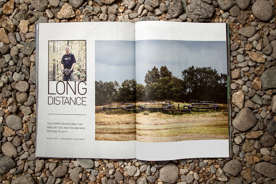 """One such maverick is Ben Bishop, the 49-year-old trailbuilder who has spent the past two decades toiling to keep alive the inaugural Olympic mountain-bike racecourse in Atlanta, Georgia. In """"Long Distance,"""" we examine the struggles that Bishop has faced along the way, including opposition from the local chapter of the region's largest and most influential trail organization."""