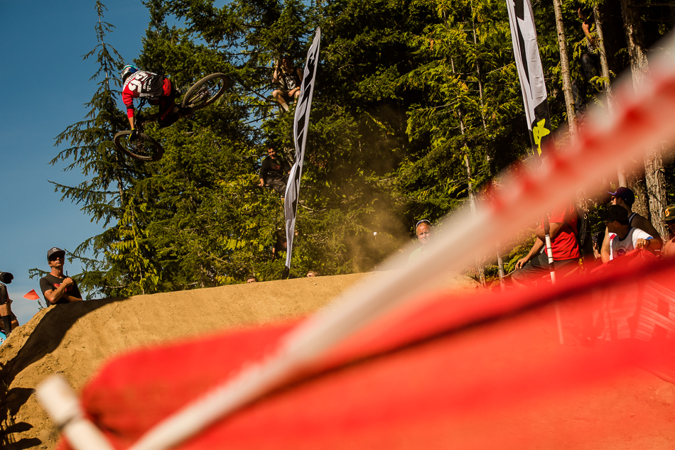 And the 17-year-old phenom went on to win first in the Whip-Offs, for the second time in three years. Photo: Bruno Long