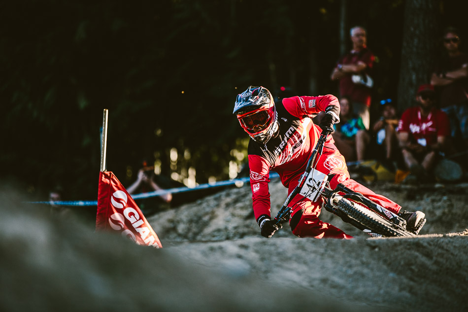 For heat after heat, Walker Shaw kept his game face on, only to narrowly miss the podium at the hands of Bas van Steenbergen. Photo: Anthony Smith