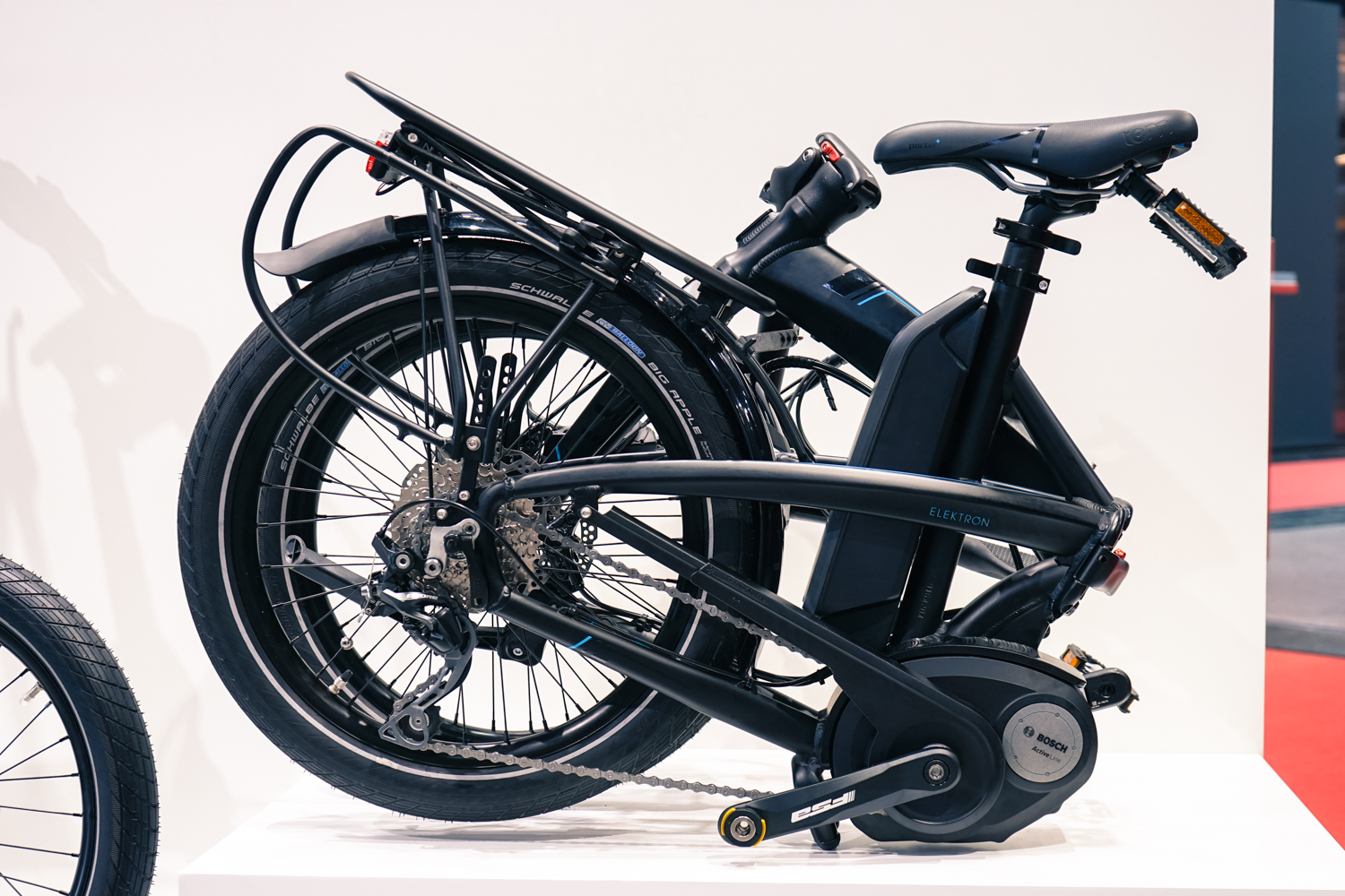 Nimble, compact and slightly lighter than a boat anchor: the folding e-bike.