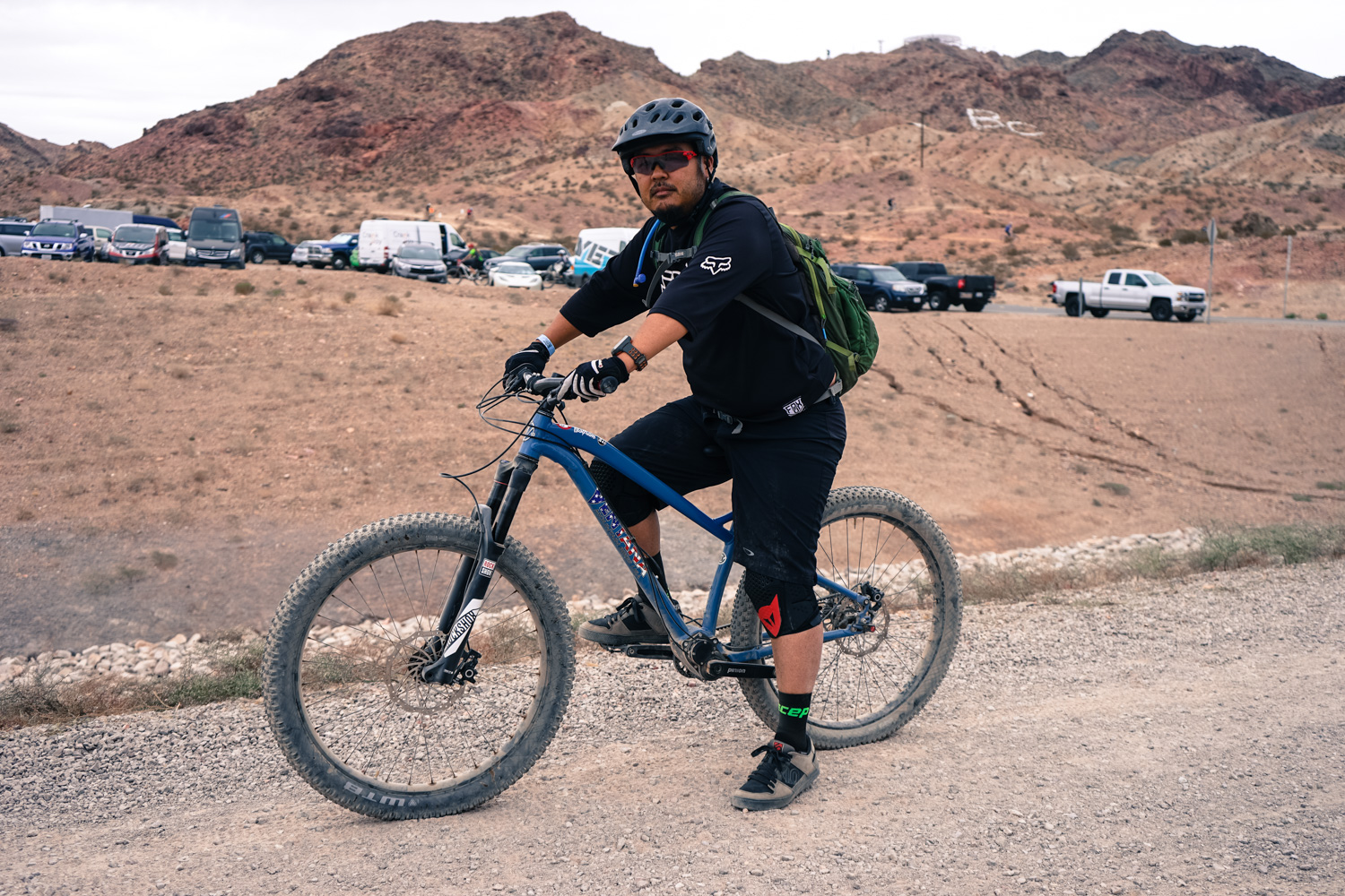 Randy from Lake Tahoe tried out plus-size and gearbox tech all in one bike.