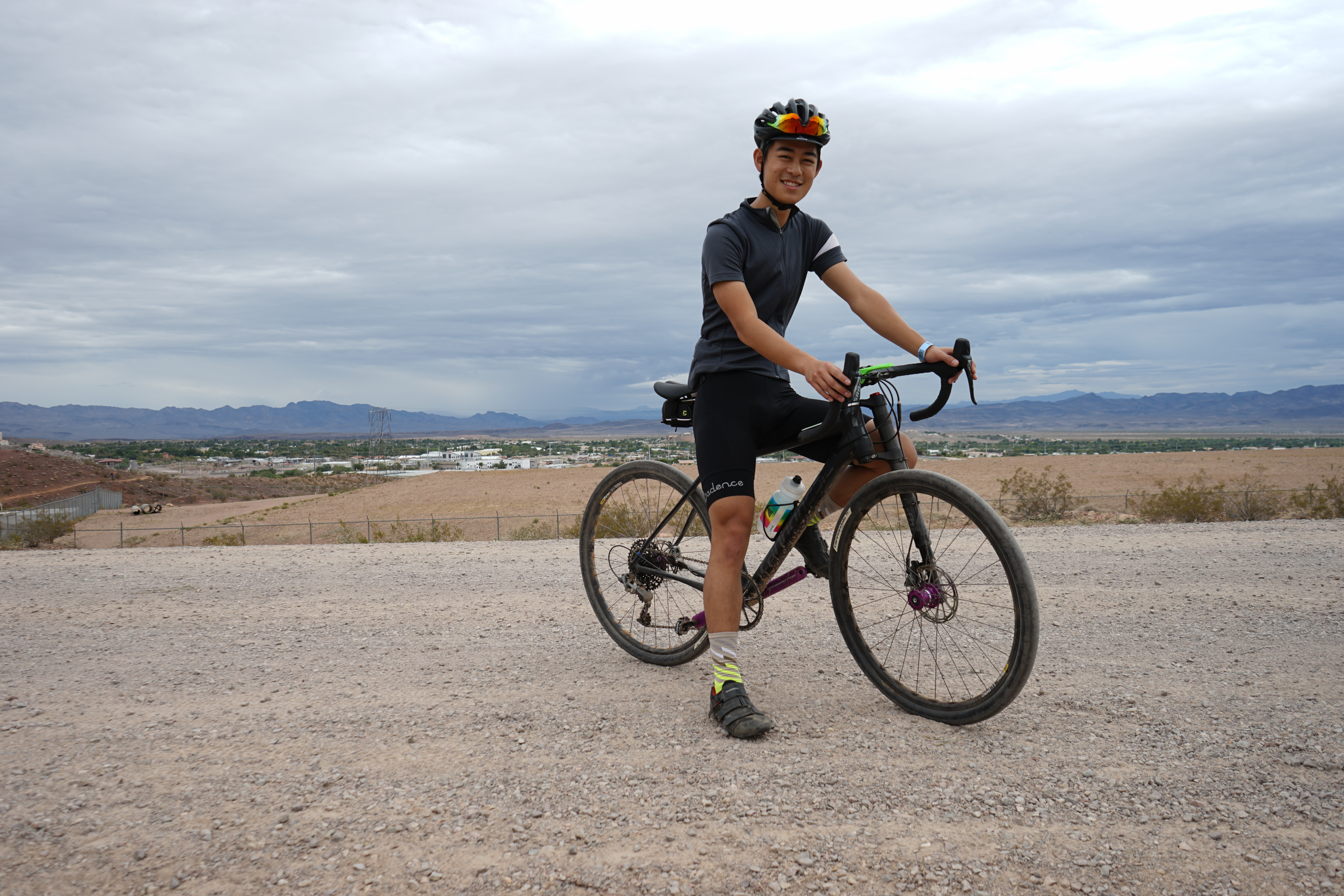 Brent came out from Los Angeles and took a long ride on a Cannondale Slate.