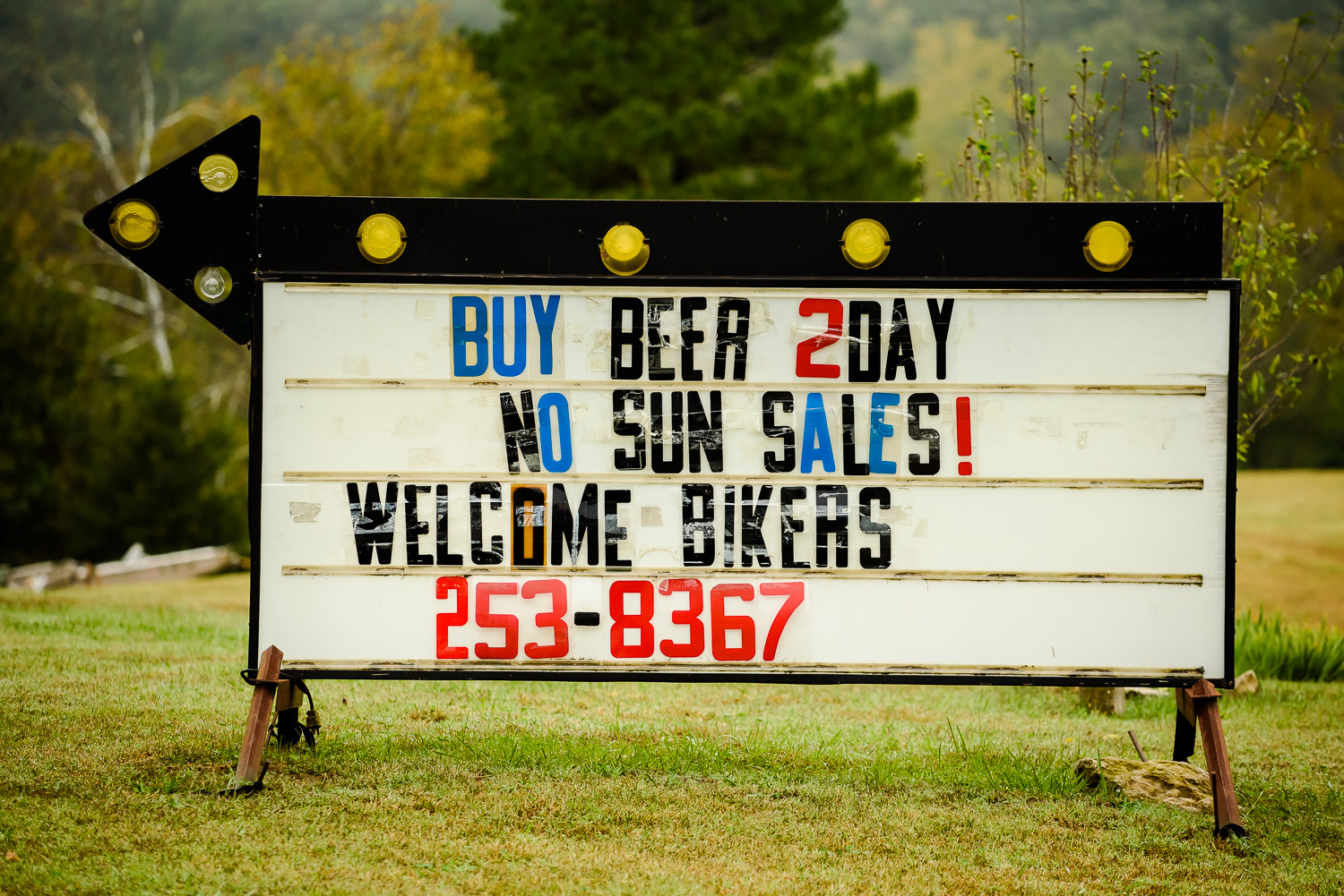 ...and that meant regular trips to the welcoming local beer store...except on Sundays, when a trip across the Missouri state line was in order.