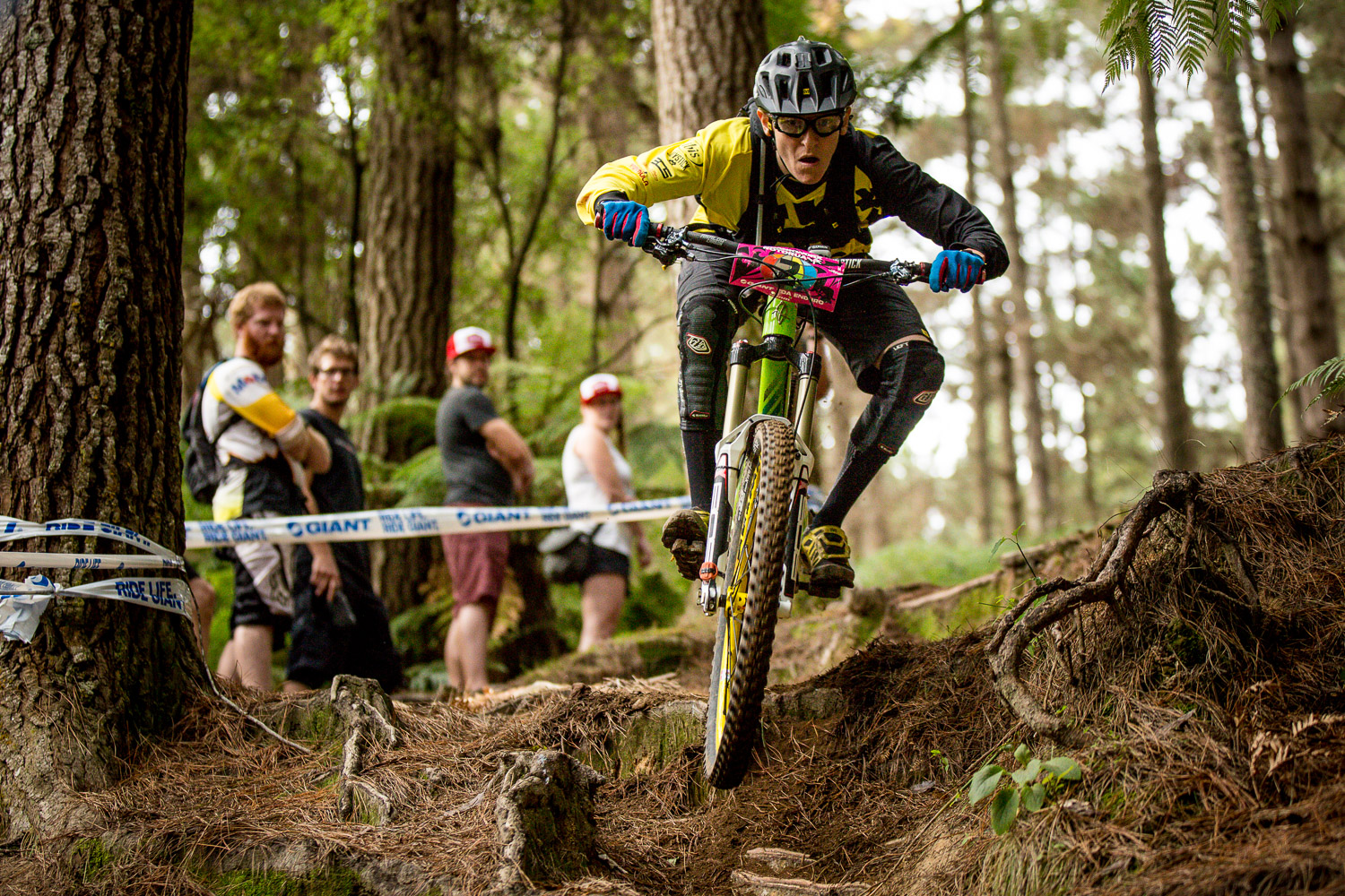 Chausson was slow to recover after winning the opening round of the 2015 Enduro World Series at Crankworx Rotorua, New Zealand.