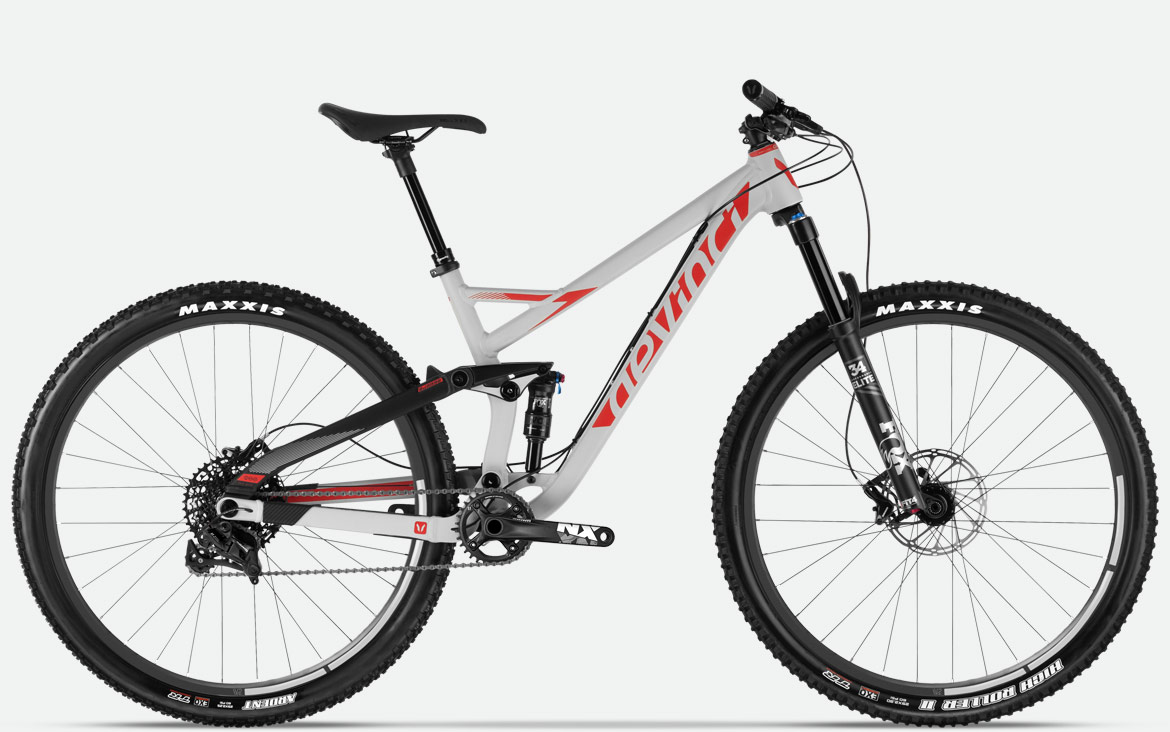This Aluminum 120 Millimeter Travel 29er Gets A Performance Level Shock And 130 Rhythm Fork From Fox