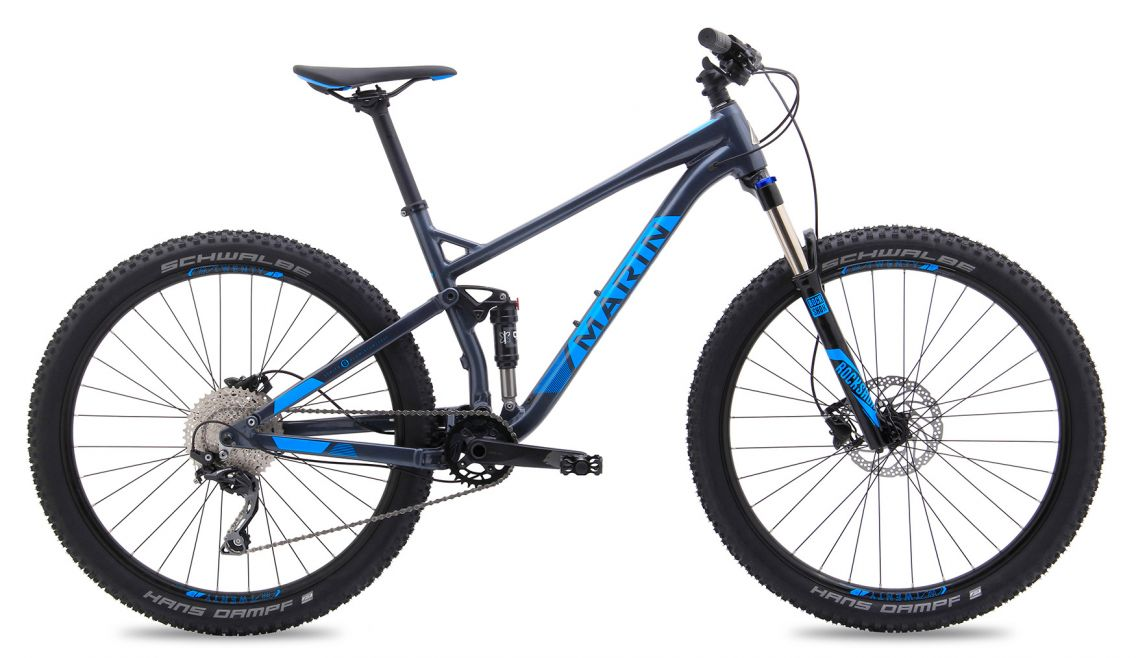 If You Want A Full Suspension Bike And Aren T Ready To Jump For Something In The 2 500 Range Marin S 120 Millimeter Travel 27 5 Wheeled Hawk Hill Is